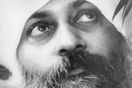 Osho with turban Feat
