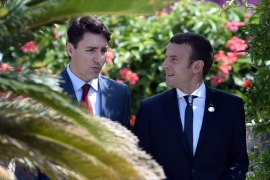 Trudeau and Macron