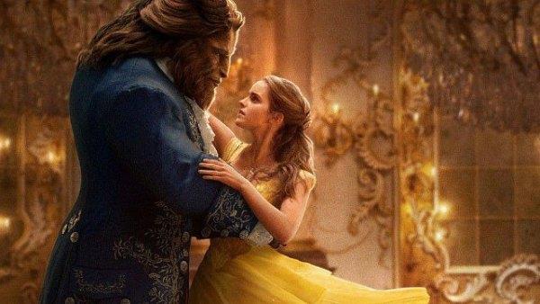 080 Emma Watson as Belle and Dan Stevens YES