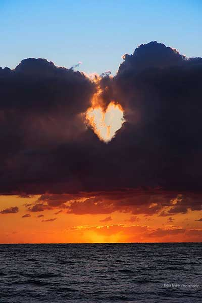 cloud heart by Petra Huber
