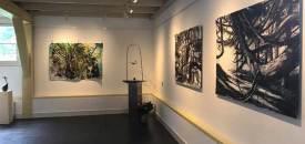 Trio exhibition, an homage to Meera