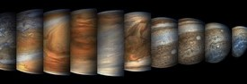 Stunning photos of Juno's Jupiter fly-by
