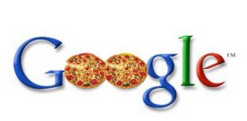 Google's pizza