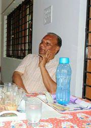 Satish in cafe 2
