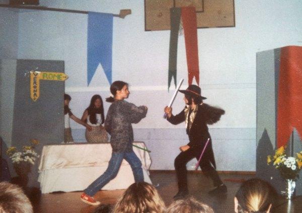 Maria-Carin plays Romeo