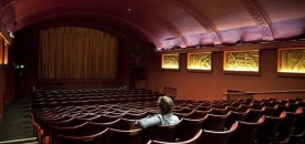 A man in the cinema