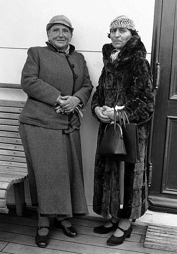 Stein and Toklas, 1934