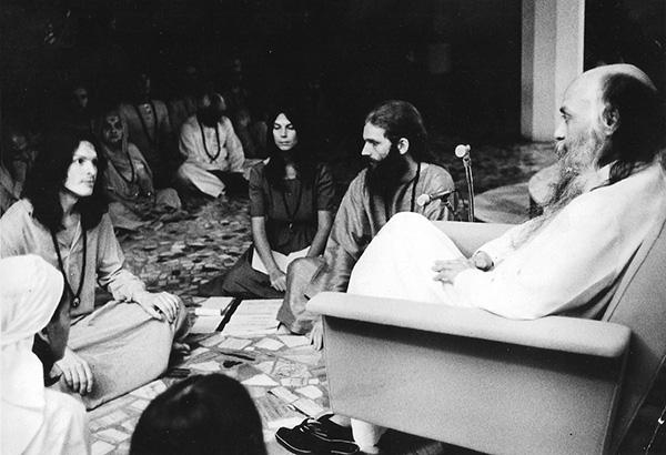 Steve/Sudesh in darshan