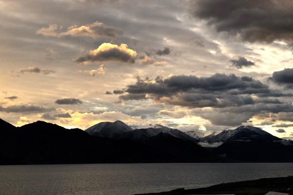 Sunrise over Tibet