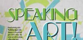 Speaking art!
