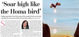 Soar high like the Homa bird