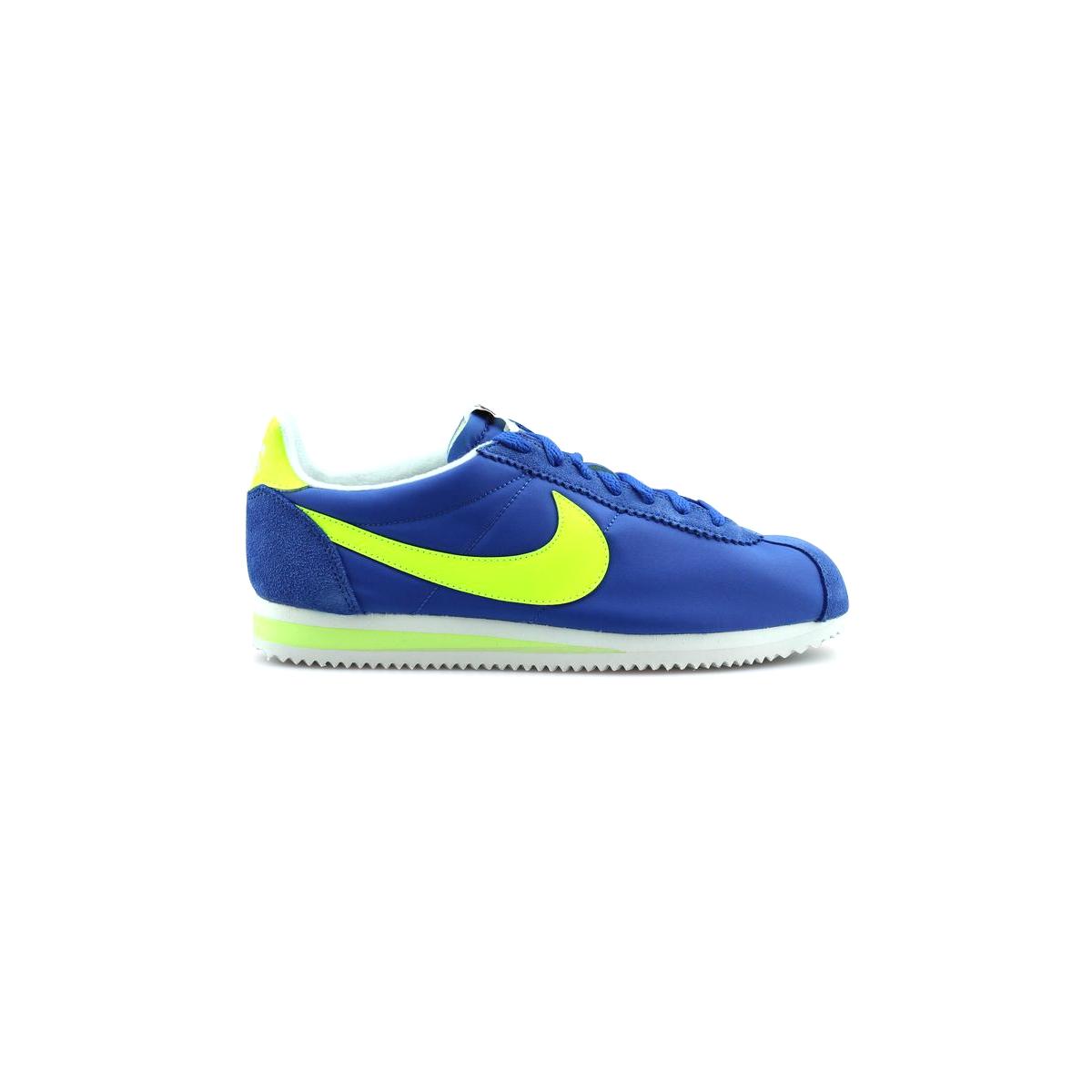 Nike Classic Cortez Nylon Aw Bleu 844855 470 43 Nike Bord