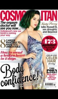 Cosmopolitan Magazine UK Cover. July 2014