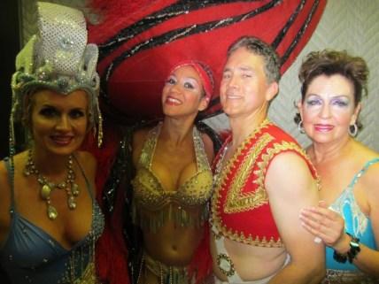 Behind the scenes of Oshun Wings Tras escena de las alas de oshun Creadora Directora Coreografa Bailarina dancers profesional rehearsal looks makeup Maritza Rosales 11
