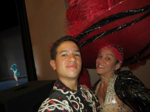 Behind the scenes of Oshun Wings Tras escena de las alas de oshun Creadora Directora Coreografa Choreography Bailarina dancers profesional rehearsals show Maritza Rosales 14