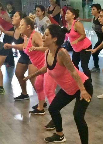 Boombafro Master Class por Maritza Rosales Bailarina Instructora Coreografa Creadora y Directora Profesional de este estilo de clase AfroCubano Latino Cardio Tonificacion Yoga Meditacion 015