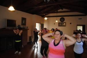 Boombafro Master Class por Maritza Rosales Bailarina Instructora Coreografa Creadora y Directora Profesional de este estilo de clase AfroCubano Latino Cardio Tonificacion Yoga Meditacion 020