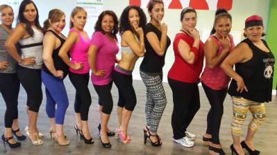 Clase Boombafro en tacones Cardio Tonificacion Reductiva Instructora y creadora Maritza Rosales 004