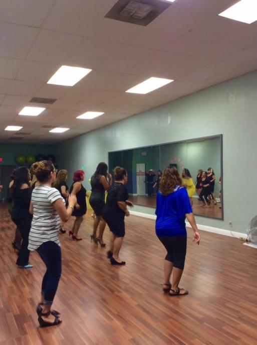 Clase Boombafro en tacones Cardio Tonificacion Reductiva Instructora y creadora Maritza Rosales 007