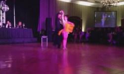 Maritza Rosales Bailarina Profesional con el Doctor Bob Larlee Recaudacion de fondos para el American Heart Association