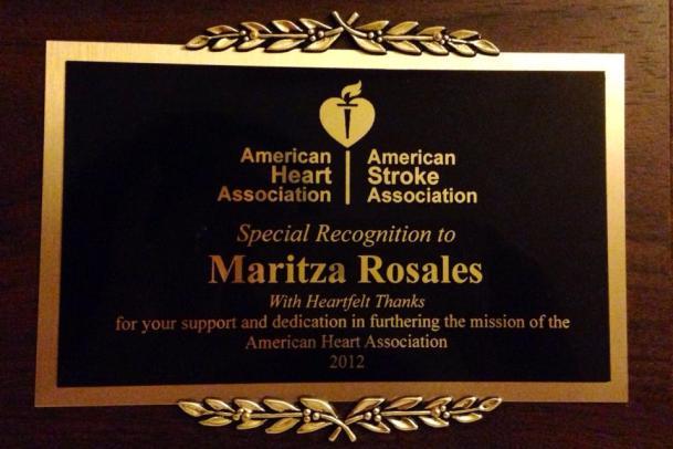 Oshun Wings Dance Art Entertainment Maritza Rosales Bailarina Profesional Doctor Bob Larlee Recaudacion de fondos para el American Heart Association 018