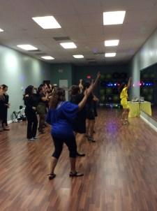 fiesta, clases animacion boombafro master class coreografa cubana coreographer professional dancer students bailando dancing Maritza Rosales 15