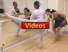 videos classical ballet Cuban technique professional dancer Maritza Rosales
