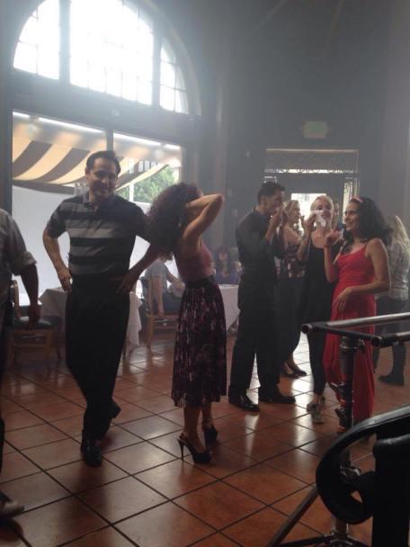 salsa dancer maritza rosales comercial shoot director roman wyden producer alex solomons wyden creable films mirj gschwind 27