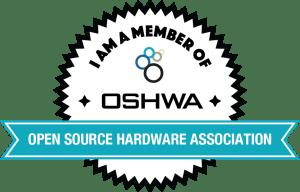 OSHWA Member Badge-General Member