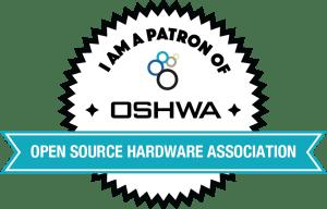 OSHWA Member Badge-Patron Member
