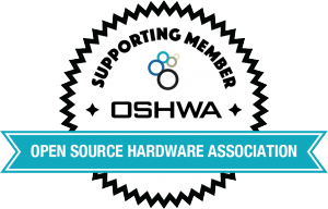 OSHWA Member Badge-Supporting Member