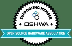 OSHWA Member Badge-Supporting Member