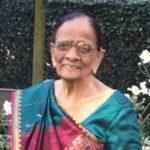 Ratanben Keshavji Shah (01/01/1932 – 18/09/2020)