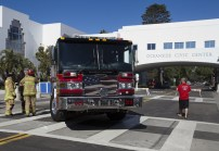 Oceanside Engine 2111 at the open house.