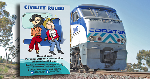 New COASTER Schedule and 'Civility Rules' Campaign - OsideNews