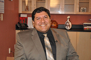 Dr. Daniel J. Calac, medical director of the Indian Health Council (IHC). He is a member of the Luiseno Band of Mission Indians, the InterTribal Youth Advisory Board and a board member of the California State University San Marcos Foundation. (courtesy photo)