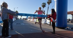 Sarah Brown finished with a record time of 28:10