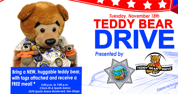 SDSO Teddy Bear drive
