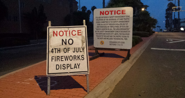 closing signs for 4th of july