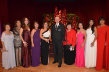 FACO Holiday Ball Committee with Mayor, Jim Wood (center)