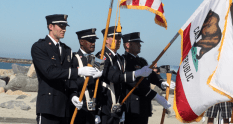 Oceanside Fire Department Honor Guard
