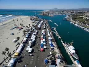 Aerial photo courtesy of Alan Crosthwaite and the Oceanside Chamber of Commerce