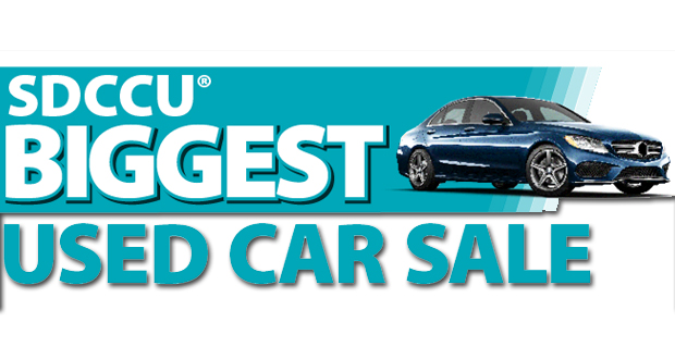 Sdccu Car Sale >> San Diego County Credit Union To Host Its Biggest Used Car Sale