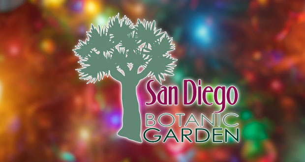 SD Botanics Garden of Lights Free for Active Duty Military on