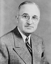 Harry S. Truman portait