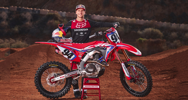 Enter For a Chance to Win this CRF450R Works Edition Bike