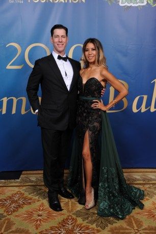 Diamond Ball co-chairs Dr. Jason Phillips and Gabrielle Phillips