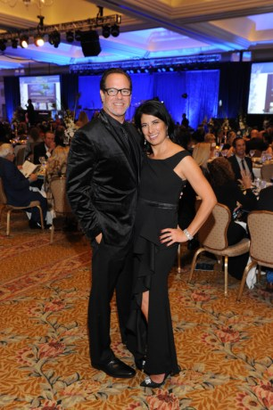 Diamond Ball co-chairs Dr. Michelle Gonzales and Gary Gurian
