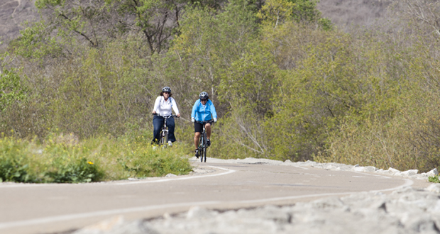 This section of SLR Bike Trail between Douglas and Foussat will be shut down for approximately 6 months