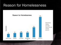 Reason for homelessness